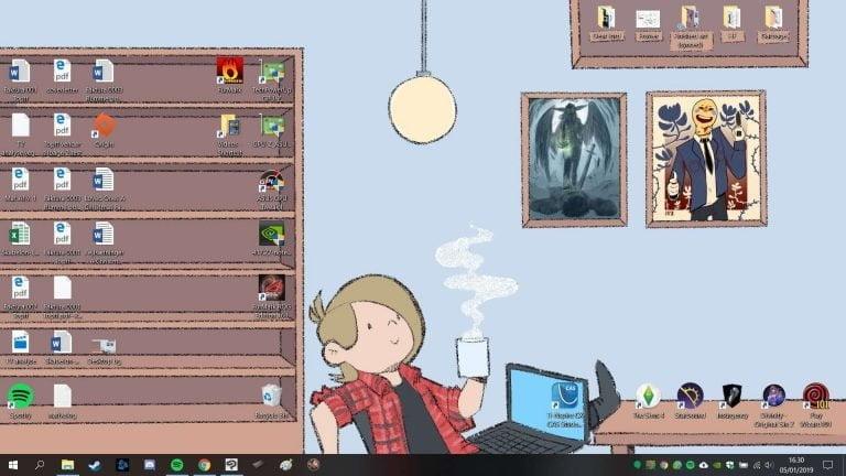 cleaned up my desktop 1