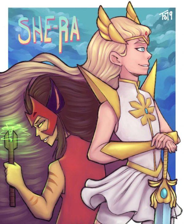 shera and catra