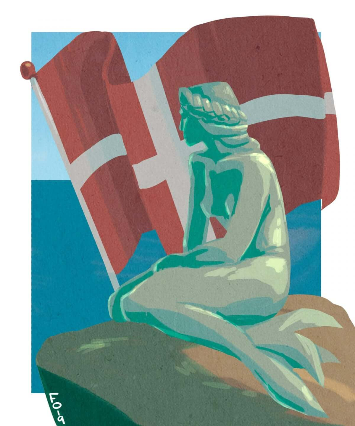 In honour of Liberation Day and it still being Mermay, here's the most Danish Mermaid of them all.