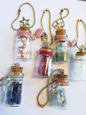 Crystal Bottle Charms