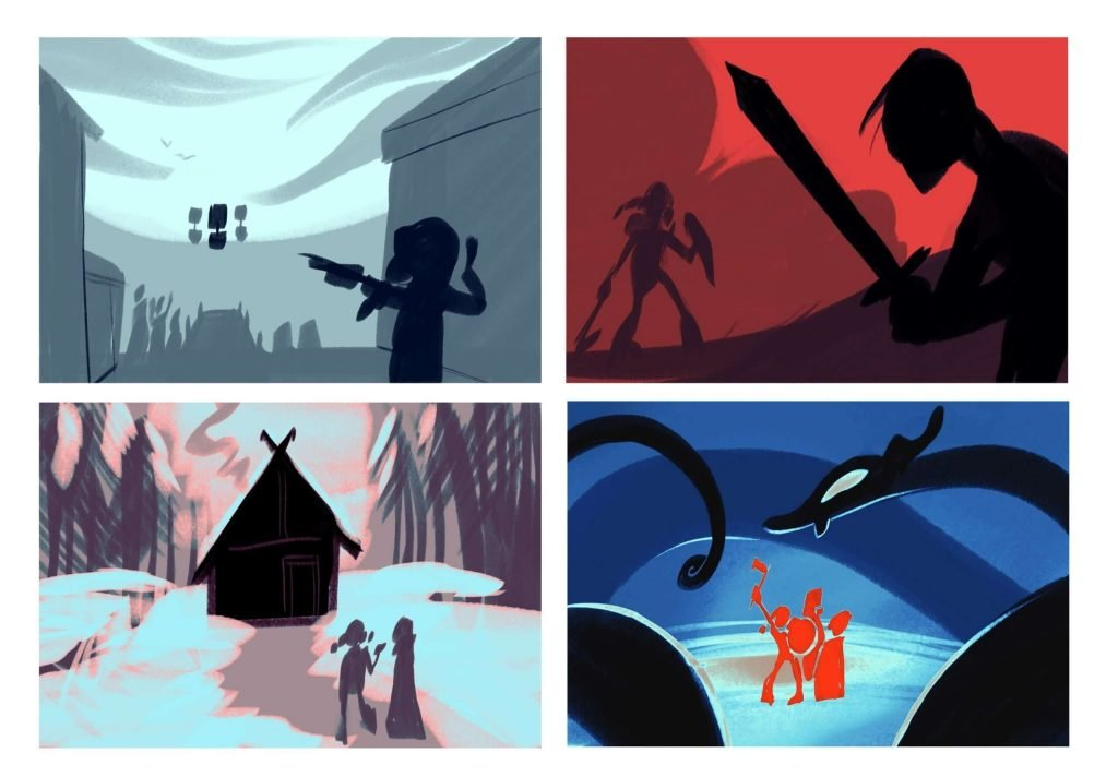 The Saga of Helga: Thumbnails
